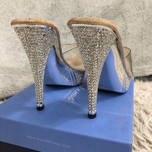 874de2a866c The Shoe Fairy Shoes - Foxy Competition Heels without strap